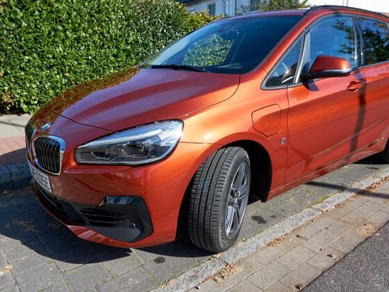 An der Front muss BMW noch arbeiten...