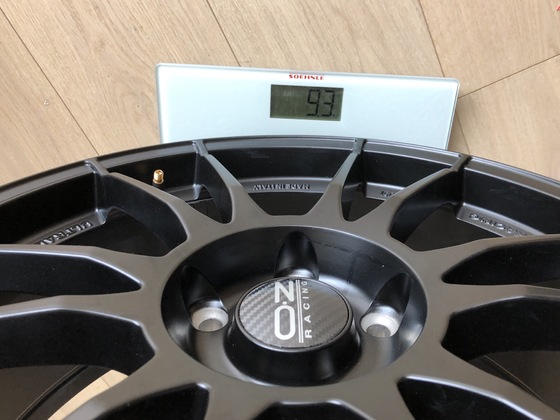 OZ Ultraleggera 8x19 ET45