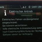 Max E-drive steht nicht zur Verfügung