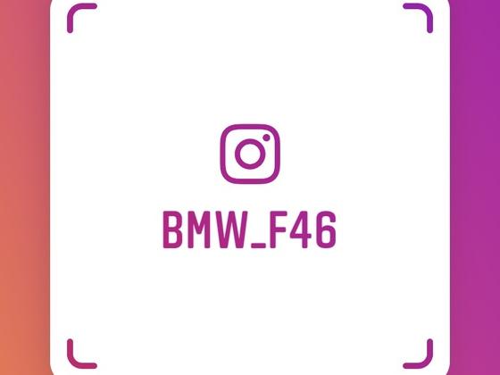 Instagram: BMW_F46