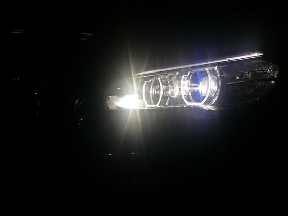 Kurvenlicht beim LED-Scheinwerfer