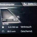 Verbrauch nach 138 km ohne nachzuladen